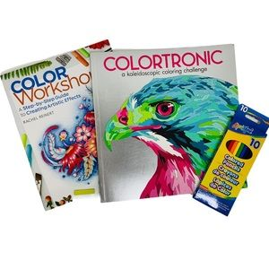 Extreme Coloring Book and Instruction Manual